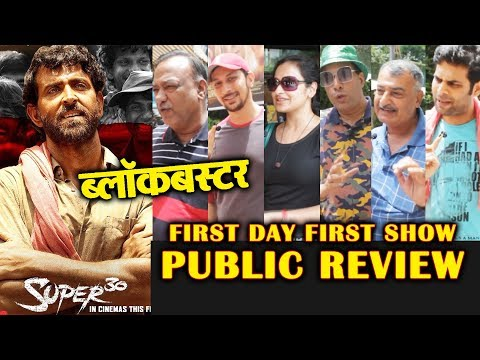 SUPER 30 PUBLIC REVIEW | First Day First Show | Hrithik Roshan