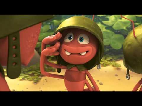La abeja Maya, la película - Clip hormigas?>
