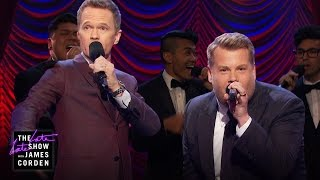 Video Broadway Riff-Off w/ Neil Patrick Harris MP3, 3GP, MP4, WEBM, AVI, FLV September 2019