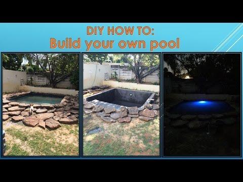 Build Underground Pool Episode 01 - Digging