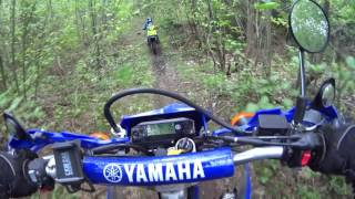 10. Yamaha TTR110, 9 year old first single track