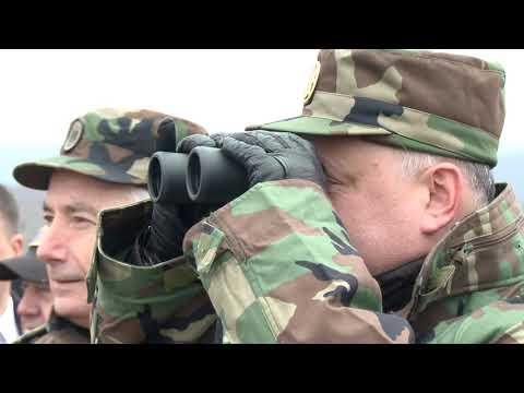 """Comandantul Suprem al Forțelor Armate a inspectat încheierea exercițiului """"Cetatea de Sud 2019"""""""