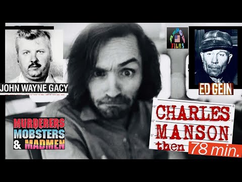 Manson - Tracing America's morbid fascination with the infamous sociopath,jailed in 1970 after members of his cult 