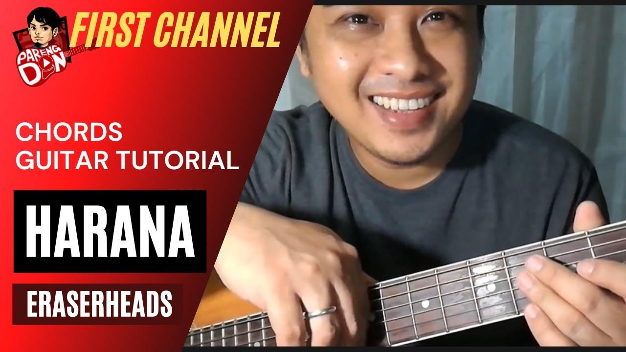 'HARANA Chords' Eraserheads OPM songs guitar tutorial