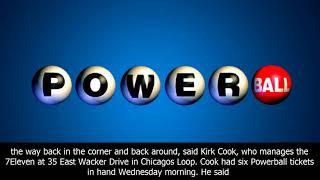 Powerball winning numbers: jackpot at $700 million.