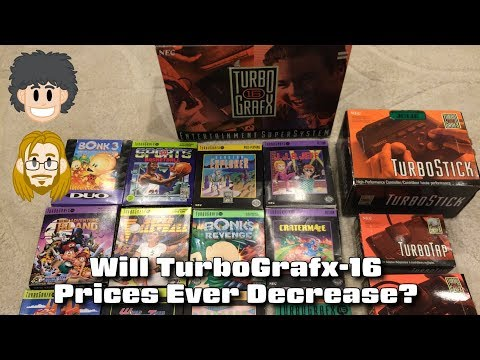 Will TurboGrafx-16 Prices Ever Decrease? #CUPodcast