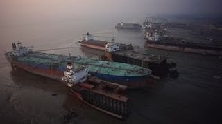 Where Do Ships Go To Die? - ShipBreaking Yards