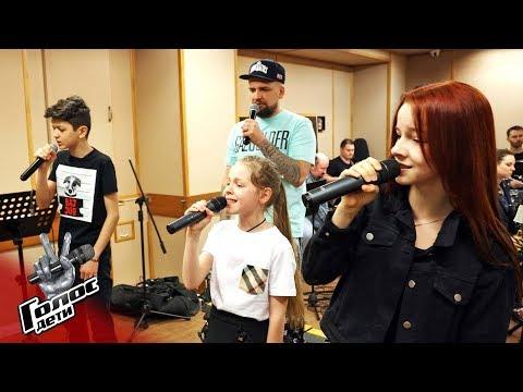 Заключительный аккорд: как великолепная девятка репетирует перед финалом - Голос.Дети - Сезон 5 - DomaVideo.Ru