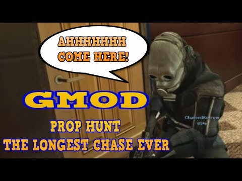 GMOD PROP HUNT THE LONGEST CHASE EVER