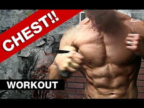 CHEST WORKOUT : 5 Chest Exercises – build a bigger chest