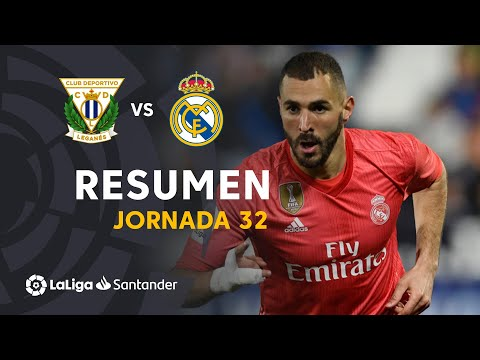 Resumen de CD Leganés vs Real Madrid (1-1)