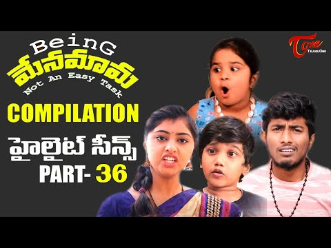 Best of Being Menamama | Telugu Comedy Web Series | Highlight Scenes Vol #36 | Ram Patas|  TeluguOne