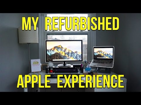 , title : 'My Refurbished Apple Experience!'
