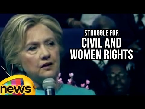 Hillary Clinton Speaks On Struggle For Civil And Women Rights | Mango News