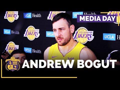 Video: Lakers Media Day: Andrew Bogut (FULL INTERVIEW)