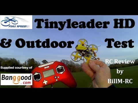 Fullspeed Tinyleader review - HD camera & Outdoor test
