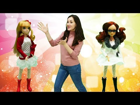 Куклы на модном показе. Одевалки и видео для девочек | @GullGirl видео