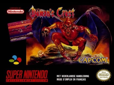 Demon's Crest Super Nintendo