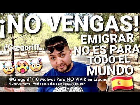 10 MOTIVOS 🤯 PARO NO 🤯 VIVIR EN ESPAÑA 🇪🇸(ACTUALIZADO) #EMIGRAR #ESPAÑA #VIAJAR #GREGORIFF #MADRID