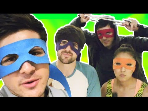 smosh - Want more TMNT action? http://bit.ly/TMNTMOVIE Watch us MEME FACES! http://youtu.be/YJzB1vO2YkU Check out the Smosh Store! http://smo.sh/1gL5AiG We are so ex...