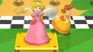 Mario Party 9 - Step It Up - Peach vs Daisy Master Difficulty | Cartoons Mee
