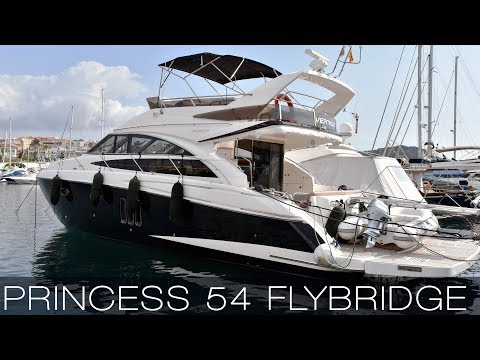 Video Princess 54 Flybridge