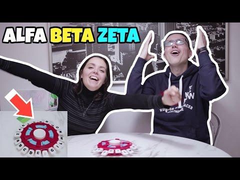 SFIDA ad ALFA BETA ZETA: il gioco challenge all'ULTIMA LETTERA
