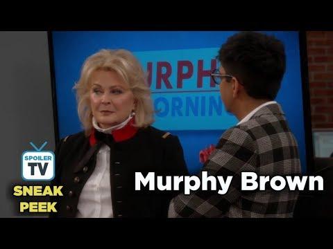 """Murphy Brown 11x09 Sneak Peek 3 """"Thanksgiving and Taking"""""""