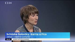 Jednání o vzájemné spolupráci: Sobotka, Kern a Fico se sešli v Brně