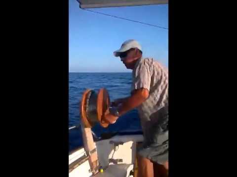 Pep Pomares con un Enfos de 4,5kg a Currican