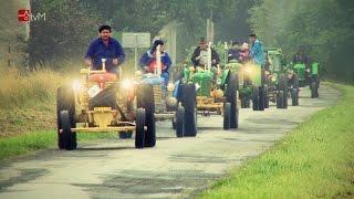 3. sraz historických traktorů v Pavlově