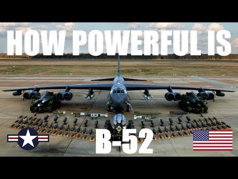 FACTS ABOUT B-52 BOMBER JET AIRCRAFT...