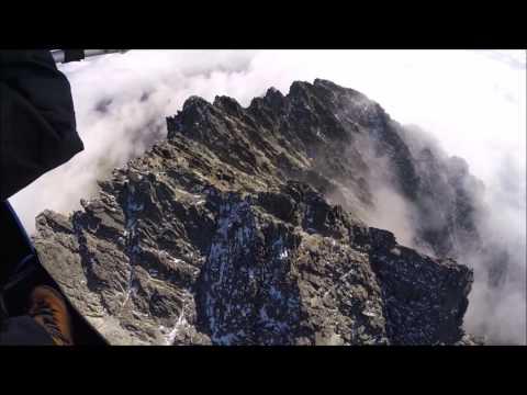 Vysoké Tatry v oblakoch