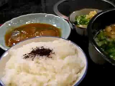 鯖の味噌煮定食@讃岐うどん『赤鬼』