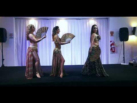 Bailarinas de fuego
