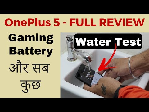 ONEPLUS 5 - AFTER 30 DAYS REVIEW - Water Test, Gaming & More