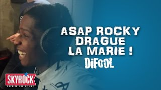 Asap Rocky drague La Marie ! #LaRadioLibre
