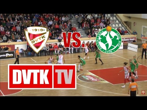 Női kosárlabda NB I. A-csoport 15. forduló. Aluinvent DVTK - CMB Cargo UNI Győr