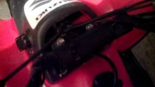 8. 2005 Suzuki Quad Sport 50