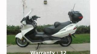 8. 2008 Suzuki Burgman 650 Executive - Specification, Review