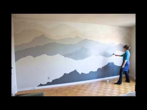 Pam lostracco wall murals for Bedroom mural painting