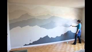 Mountain Mural Timelapse