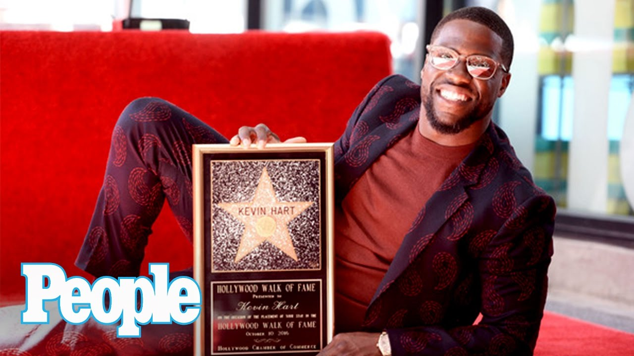Watch Entertainer Extraordinaire 'Kevin Hart' Receive Star on Hollywood Walk of Fame
