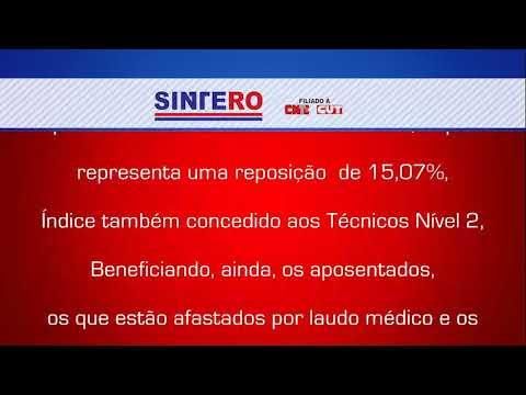 NOTA DO SINTERO