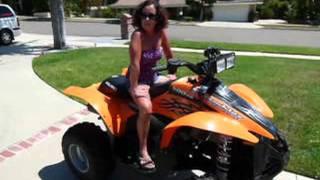 6. 2 polaris 500cc Scrabler Quads for sale Good Price