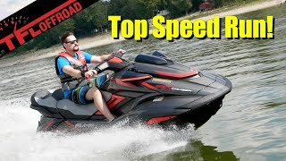 5. 2019 Yamaha Waverunner FX Cruiser SVHO Expert Buyer Review + Top Speed Run!