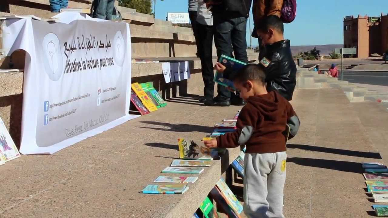 The Public Reading Initiative : Reading in Open Air in Ouarzazate