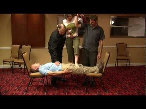 Not all hypnosis demonstrations may be real including the stiff body test. Watch this video now.