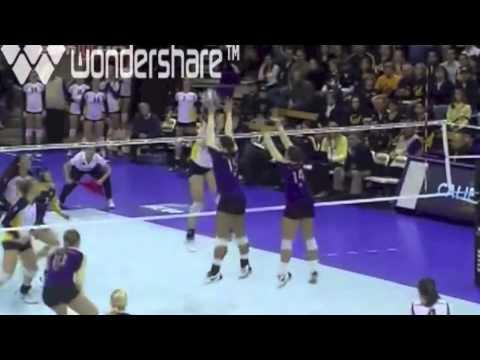 Washington vs Cal Volleyball 2010 [Set 3 Part 1]