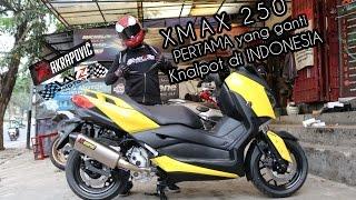 Video YAMAHA XMAX 250 PERTAMA YANG GANTI KNALPOT DI INDONESIA! MP3, 3GP, MP4, WEBM, AVI, FLV Desember 2018